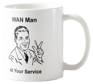 WAN Man Coffee Mug. Get yours here...